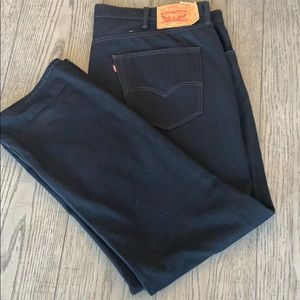 Levi's Men's Jeans (black) only worn once